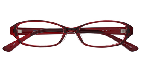 AirSelection Square Frame 0003 Wine Red