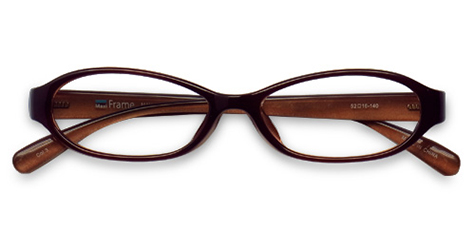 AirSelection Oval Frame 0006 Brown