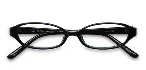 AirSelection Oval Frame 0007 Black