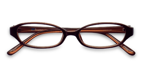 AirSelection Oval Frame 0007 Brown