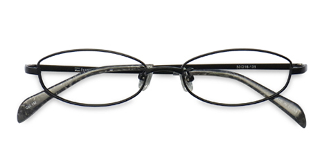 MetalSelection Oval Frame 0011 Matt Black