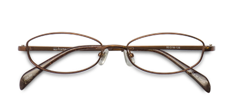 MetalSelection Oval Frame 0011 Brown