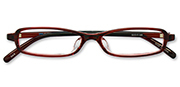 AirSelection Square Frame 0002 Wine Red/