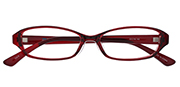 AirSelection Square Frame 0003 Wine Red/