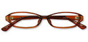 AirSelection Square Frame 0003 Clear Brown/