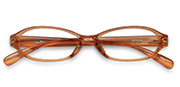 AirSelection Oval Frame 0006 Light Brown/