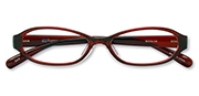 AirSelection Oval Frame 0006 Wine Red/
