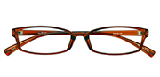 AirSelection Square Frame 0013 Clear Brown