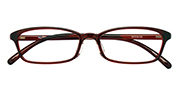 AirSelection Square Frame 0014 Wine Red/