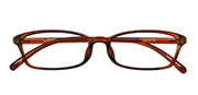 AirSelection Square Frame 0014 Clear Brown/