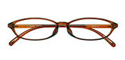 AirSelection Oval Frame 0015 Clear Brown/