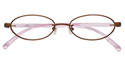 MetalSelection Oval Frame 0016 Brown