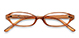 AirSelection Oval Frame 0007 Light Brown